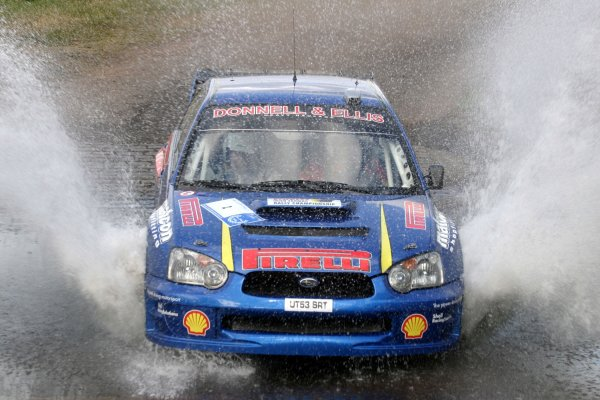 Derek McGarrityJim Clark Rally2006 British Rally ChampionshipKelso, ScotlandWorldwide copyright: Ebrey/LAT Photographic