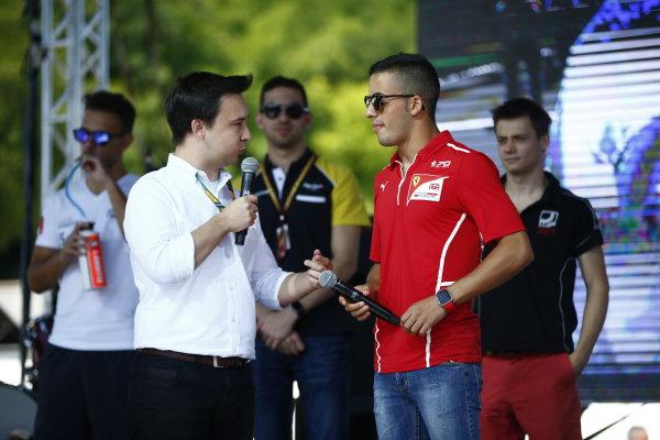 2017 FIA Formula 2 Round 7. Hungaroring, Budapest, Hungary. Saturday 29 July 2017. Antonio Fuoco (ITA, PREMA Racing).  Photo: Andy Hone/FIA Formula 2. ref: Digital Image _ONY0704