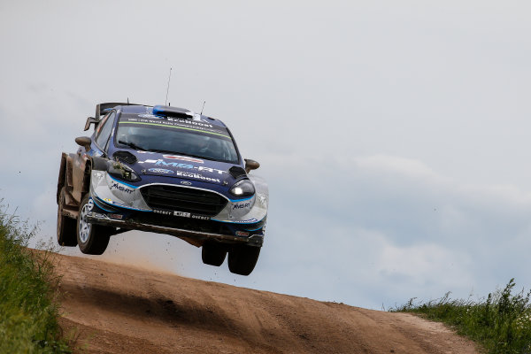 2017 FIA World Rally Championship, Round 08, Rally Poland / June 29 - July 2 2017, Ott Tanak, Ford, action, Worldwide Copyright: McKlein/LAT
