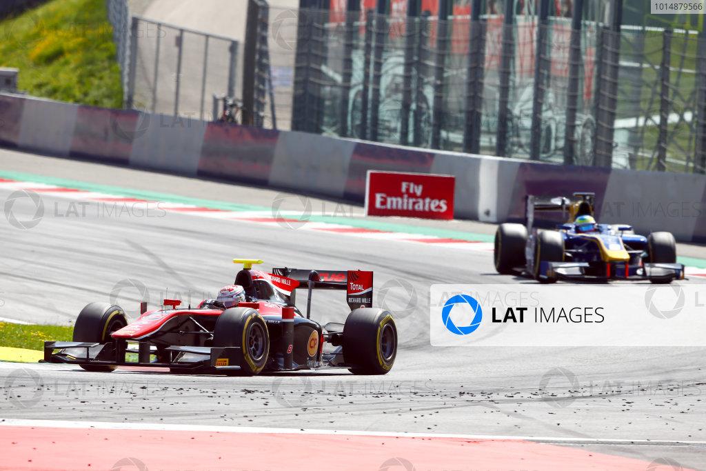 Red Bull Ring, Spielberg, Austria. Sunday 9 July 2017 Alexander Albon (THA, ART Grand Prix).  Photo: Hone/FIA Formula 2 ref: Digital Image _ONY2112