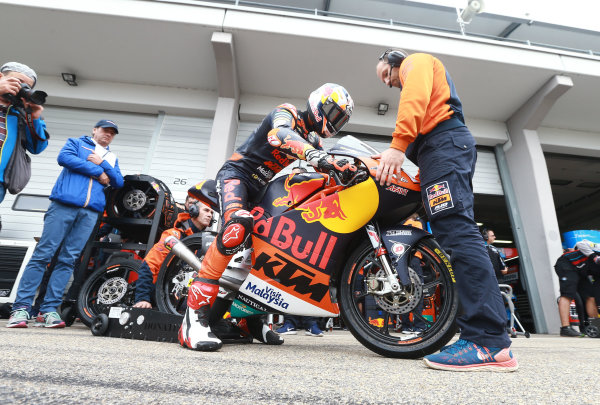 2017 Moto3 Championship  - Round 9 Sachsenring, Germany Friday 30 June 2017 Bo Bendsneyder, Red Bull KTM Ajo World Copyright: David Goldman/LAT Images ref: Digital Image 681043