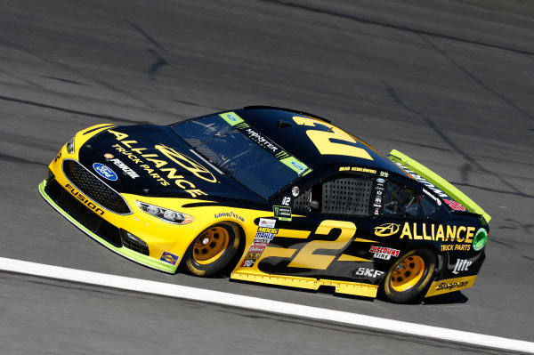 Monster Energy NASCAR Cup Series Bank of America 500 Charlotte Motor Speedway, Concord, NC Friday 6 October 2017 Brad Keselowski, Team Penske, Alliance Truck Parts Ford Fusion World Copyright: Matthew T. Thacker LAT Images