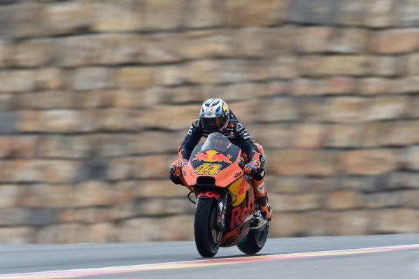2017 MotoGP Championship - Round 14 Aragon, Spain. Friday 22 September 2017 Pol Espargaro, Red Bull KTM Factory Racing World Copyright: Gold and Goose / LAT Images ref: Digital Image 693662