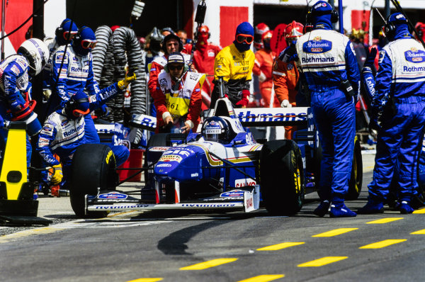 1996 San Marino Grand Prix  Imola, Italy. 3-5 May 1996.   Ref: 96SM12. World copyright: LAT Photographic