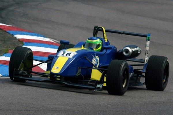 Alberto Valerio (BRA) Cesario Formula UK British Formula Three, Thruxton, England.23rd September 2006DIGITAL IMAGE