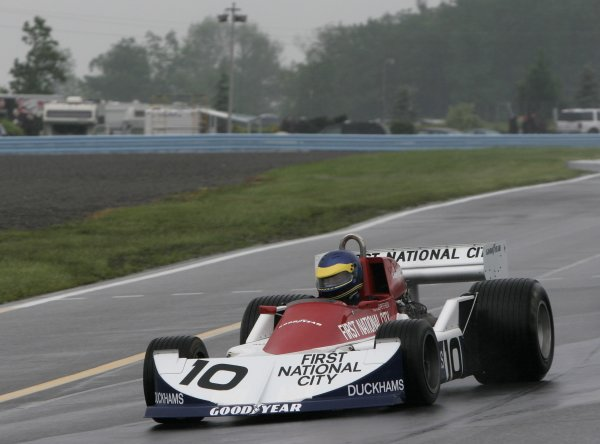 2 - 4 June, 2006, Watkins Glen, New York, USA, Howard Cherry in the March 761 originally driven by Ronnie Peterson (or Hans Stuck?),© 2006 Dan Streck/USA, LAT Photographic