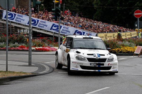 Round 09-Rallye Deutschland 23-26/8-2012.Andreas Mikkelsen, Skoda S2000, Action.Worldwide Copyright: McKlein/LAT