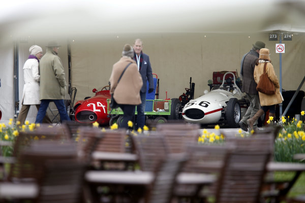 2015 73rd Members Meeting. Goodwood Estate, West Sussex, England. 21st - 22nd March 2015. Atmosphere. World Copyright: Gary Hawkins/LAT Photographic ref: Digital Image ATMMOSPHERE_F2R1681