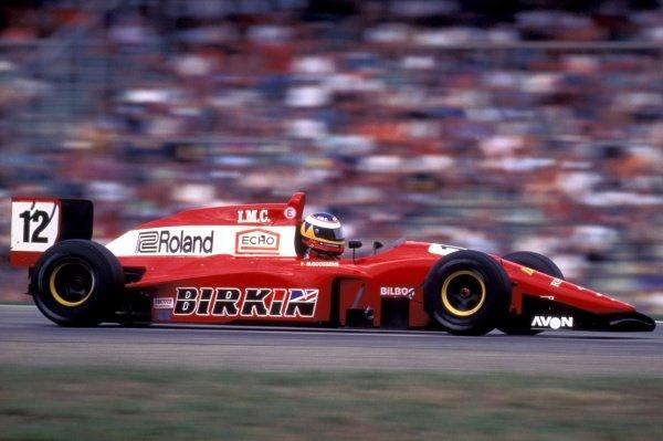 Marc Goossens (BEL) Lola International Formula 3000 Championship, Rd 5, Hockenheim, Germany, 29 July 1995.