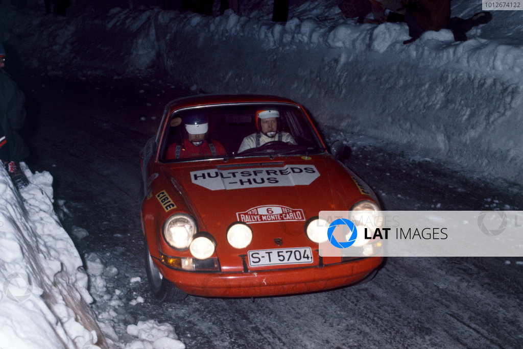 1970 Monte Carlo Rally.