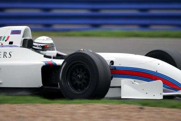 Ricardo Patrese (ITA) Grand Prix Masters Testing, Day One, Silverstone, England, 26 October 2005. DIGITAL IMAGE