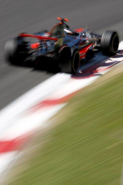 2007 Italian Grand PrixAutodromo di Monza, Monza, Italy.7th - 9th September 2007.Fernando Alonso, McLaren MP4-22 Mercedes. Action.World Copyright: Glenn Dunbar/LAT Photographicref: Digital Image _O9T8271