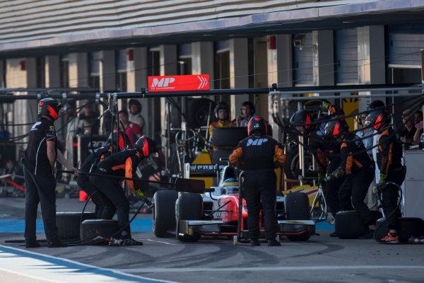 2017 FIA Formula 2 Round 10. Circuito de Jerez, Jerez, Spain. Sunday 8 October 2017. Sergio Sette Camara (BRA, MP Motorsport).  Photo: Zak Mauger/FIA Formula 2. ref: Digital Image _56I7819