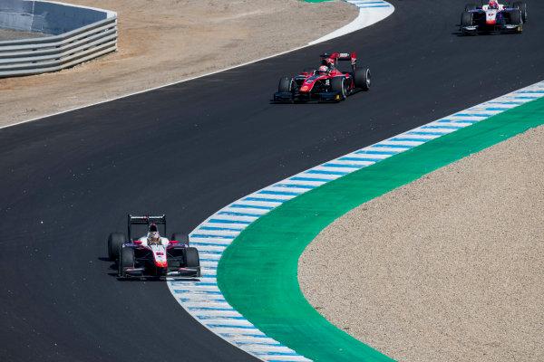 2017 FIA Formula 2 Round 10. Circuito de Jerez, Jerez, Spain. Sunday 8 October 2017. Nabil Jeffri (MAS, Trident).  Photo: Zak Mauger/FIA Formula 2. ref: Digital Image _56I7600