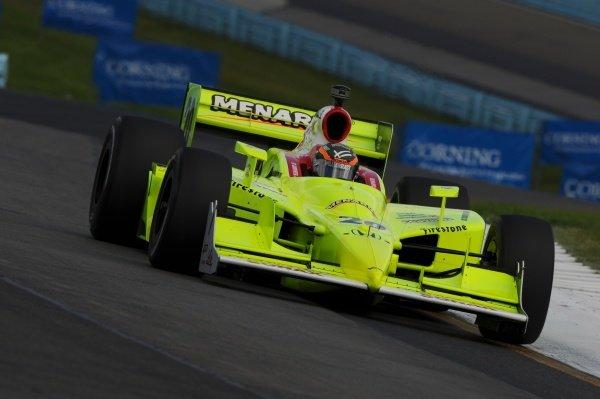 Ed Carpenter (USA), Vision Racing.IndyCar Series, Rd9, Camping World Grand Prix at the Glen, Watkins Glen International, New York State, 3-5 July 2009.