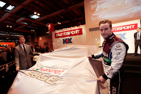 Autosport International Show NEC, Birmingham.  Thursday 10th January 2013. The new Ford Fiesta Rally Car is unveiled. World Copyright:Alastair Staley/LAT Photographic ref: Digital Image _MG_0705