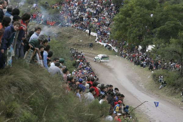 2006 FIA World Rally Champs. Round 6Rally Argentina. 27th-30th April 2006Companc, Ford, action.World Copyright: McKlein/LAT