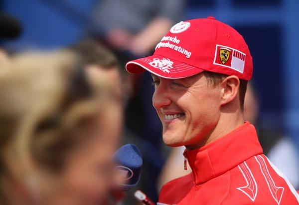 2006 European Grand Prix - Thursday Preview,  Nurburgring, Germany. Michael Schumacher, Ferrari 248 F1, portrait. 4th May 2006  World Copyright: Steve Etherington/LAT Photographic ref: 48mb Hi Res Digital Image Only