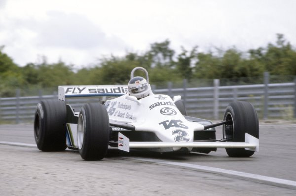 1981 French Grand Prix.Dijon-Prenois, France. 3-5 July 1981.Carlos Reutemann (Williams FW07C-Ford Cosworth), 10th position.World Copyright: LAT PhotographicRef: 35mm transparency 81FRA22