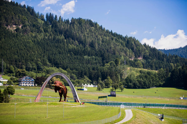 2017 FIA Formula 2 Round 5. Red Bull Ring, Spielberg, Austria. Thursday 6 July 2017. A view of the circuit. Photo: Zak Mauger/FIA Formula 2. ref: Digital Image _54I5354
