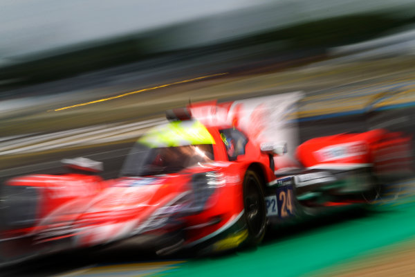 2017 Le Mans 24 Hours Test day, Le Mans, France. 4th June 2017. #24 CEFC Manor TRS Team China ORECA 07-Gibson: Tor Graves, Jonathan Hirschi, Jean-Eric Vergne. World Copyright: JEP/LAT Images.