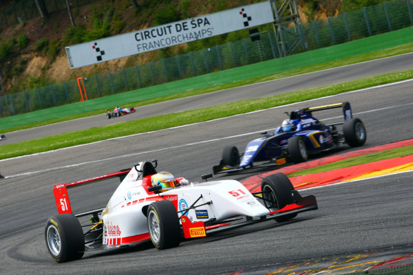 2017 BRDC British F3 Championship, Spa-Francorchamps, Belgium. 7th - 8th July 2017. Toby Sowery (GBR) Lanan Racing BRDC F3. World Copyright: JEP/LAT Images.