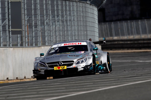 2017 DTM Round 4 Norisring, Nuremburg, Germany Friday 30 June 2017. Gary Paffett, Mercedes-AMG Team HWA, Mercedes-AMG C63 DTM World Copyright: Alexander Trienitz/LAT Images ref: Digital Image 2017-DTM-R3-NOR-AT1-0383