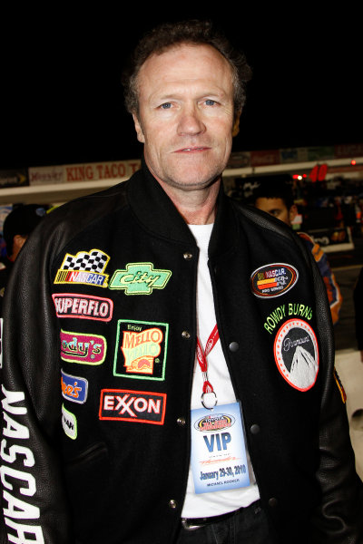 """29-30 January, 2010, Irwindale, California USAActor Michael Rooker who played the character """"Rowdy"""" Burns in the movie """"Days of Thunder"""" is the Grand Marshal of the NASCAR Toyota All-Star Showdown©2010 Lesley Ann Miller, USALAT Photographic"""