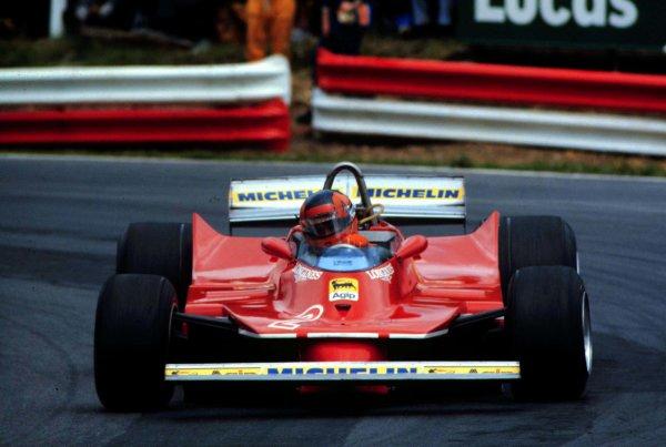 1980 British Grand Prix.Brands Hatch, England.11-13 July 1980.Gilles Villeneuve (Ferrari 312T5).World Copyright - LAT Photographic
