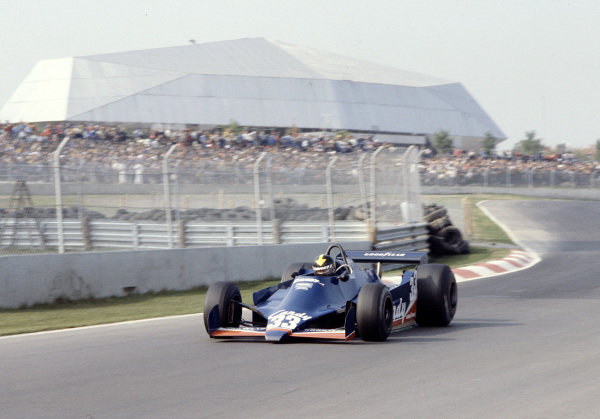 1979 Canadian Grand Prix.Montreal, Quebec, Canada.28-30 September 1979.Derek Daly (Tyrrell 009 Ford).Ref-79 CAN 25.World Copyright - LAT Photographic