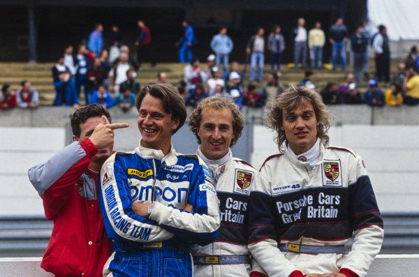 Giovanni Lavaggi, Eje Elgh, James Weaver and Steven Andskär.
