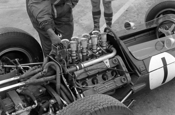 Jim Clark's Lotus 25 Climax.