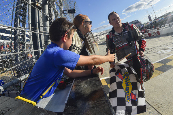 #00: Cole Custer, Stewart-Haas Racing, Ford Mustang Production Alliance Group celebrates his win
