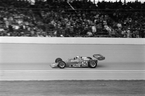 A. J. Foyt, Coyote 73 Ford.