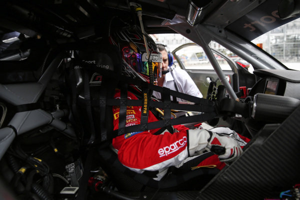Tony Bates (AUS) Tony Bates Racing at Audi R8 LMS Cup, Rd1 and Rd2, Adelaide, Australia, 2-4 March 2018.