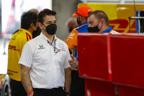 #9: Scott Dixon, Chip Ganassi Racing Honda, Crew
