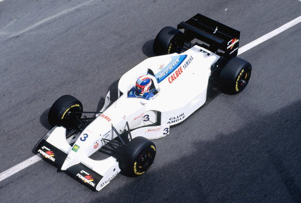 1994 Monaco Grand Prix.Monte Carlo, Monaco. 12-15 May 1994.Ukyo Katayama (Tyrrell 022 Yamaha).Ref-94 MON 86.World Copyright - LAT Photographic