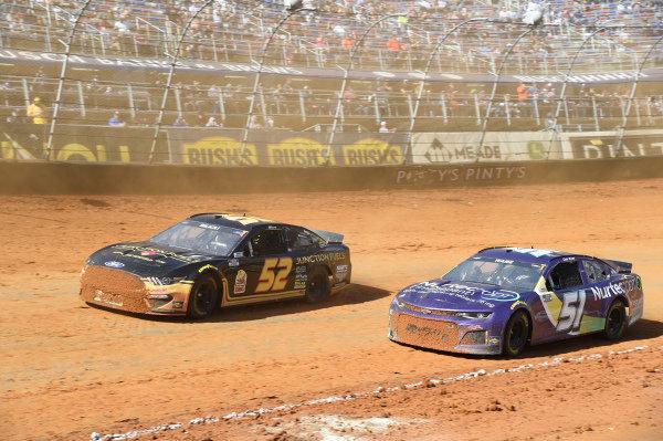 #52: Josh Bilicki, Rick Ware Racing, Ford Mustang, #51: Cody Ware, Petty Ware Racing, Chevrolet Camaro NURTEC ODT