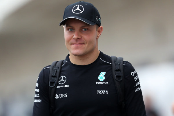 Valtteri Bottas (FIN) Mercedes AMG F1 at Formula One World Championship, Rd17, United States Grand Prix, Practice, Circuit of the Americas, Austin, Texas, USA, Friday 20 October 2017.