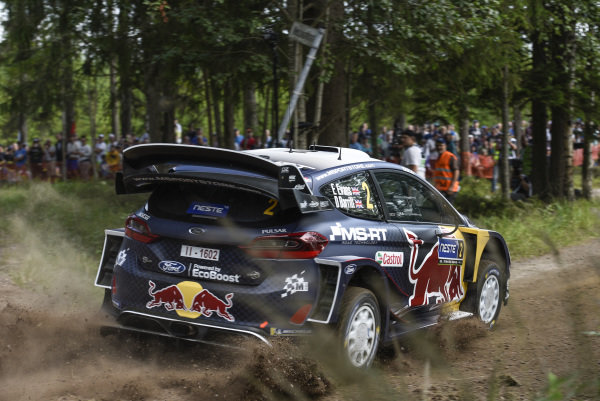 Rally Finland is one of the fastest WRC rallies in the calendar, well suited to the smooth driving style of Elfyn Evans