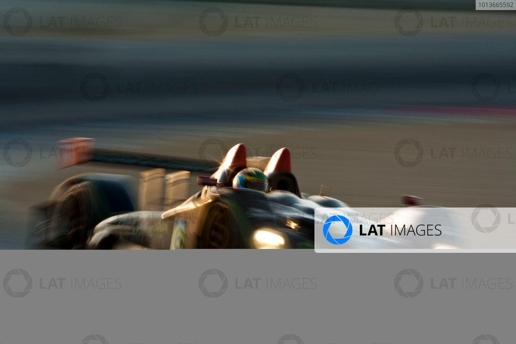 American Le Mans Series. Laguna Seca, Monterey, California. 15th - 17th September 2011. Eric Lux / Elton Julian / Michael Guasch, Genoa Racing, Oreca FLM09. Action. Photo: Drew Gibson/LAT Photographic. ref: Digital Image _Y2Z7043