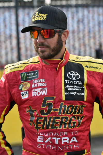 Monster Energy NASCAR Cup Series Monster Energy NASCAR All-Star Race Charlotte Motor Speedway, Concord, NC USA Friday 19 May 2017 Martin Truex Jr, Furniture Row Racing, 5-hour Energy Extra Strength Toyota Camry World Copyright: Nigel Kinrade LAT Images ref: Digital Image 17CLT1nk03062