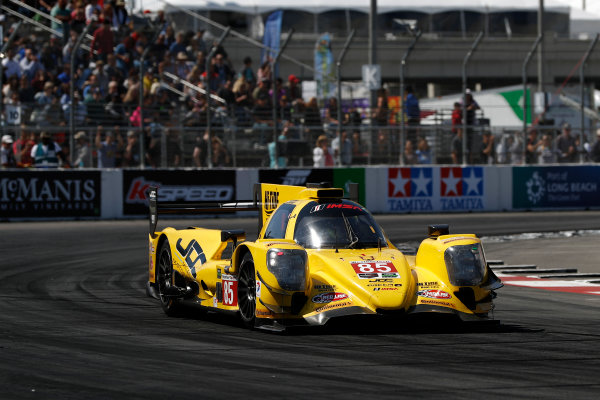 2017 IMSA WeatherTech SportsCar Championship BUBBA burger Sports Car Grand Prix at Long Beach Streets of Long Beach, CA USA Saturday 8 April 2017 85, ORECA, P, Misha Goikhberg, Stephen Simpson World Copyright: Michael L. Levitt LAT Images ref: Digital Image levitt-0417-lbgp_08913