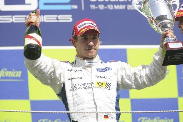 2007 GP2 Series. Round 2. Sunday RaceBarcelona, Spain. 13th May 2007. Timo Glock (GER, iSport International). World Copyright: Andrew Ferraro/GP2 Series Media Sevice  ref: Digital Image ZP9O7197