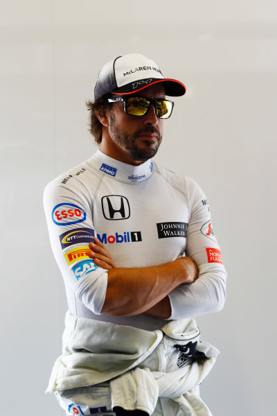 Autodromo Nazionale di Monza, Italy. Friday 02 September 2016. Fernando Alonso, McLaren.  World Copyright: Steven Tee/LAT Photographic ref: Digital Image _O3I4813