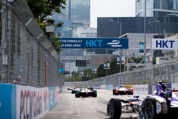 FIA Formula E Hong Kong e-Prix. First Practice Session. Daniel Abt (GER), ABT Schaeffler Audi Sport, Spark-Abt Sportsline, ABT Schaeffler FE02.  Hong Kong Harbour, Hong Kong, Asia. Sunday 9 October 2016. Photo: Adam Warner / FE / LAT ref: Digital Image _14P5849