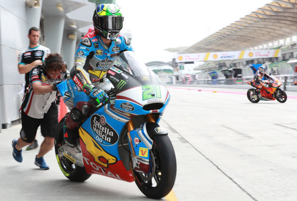 2017 Moto2 Championship - Round 17 Sepang, Malaysia. Friday 27 October 2017 Alex Marquez, Marc VDS World Copyright: Gold and Goose / LAT Images ref: Digital Image 25428