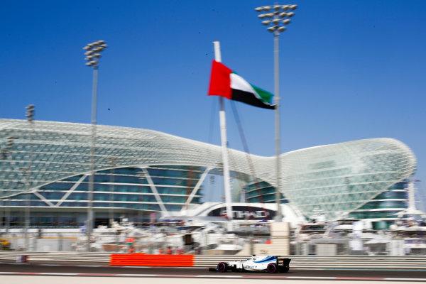 Yas Marina Circuit, Abu Dhabi, United Arab Emirates. Saturday 25 November 2017. Felipe Massa, Williams FW40 Mercedes.  World Copyright: Andy Hone/LAT Images  ref: Digital Image _ONZ9982