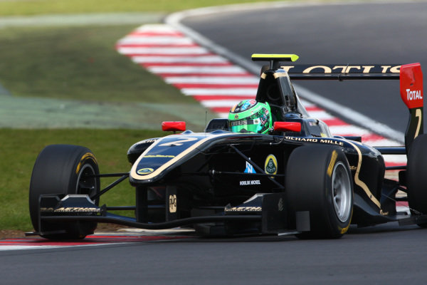 Conor Daly (IRL). GP3 Testing, Silverstone, England, 11-12 April 2012.