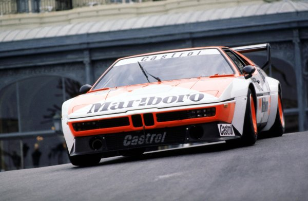 1980 BMW M1 Procar Championship. Monte Carlo, Monaco. 17th May 1980. Rd 3. Jo Gartner (Helmet Marko), retired, action.  World Copyright: LAT Photographic. Ref:  80 BMW M1 MON 01.